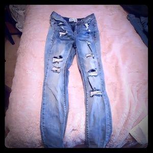 Mudd flex stretch skinny Jean's size 0